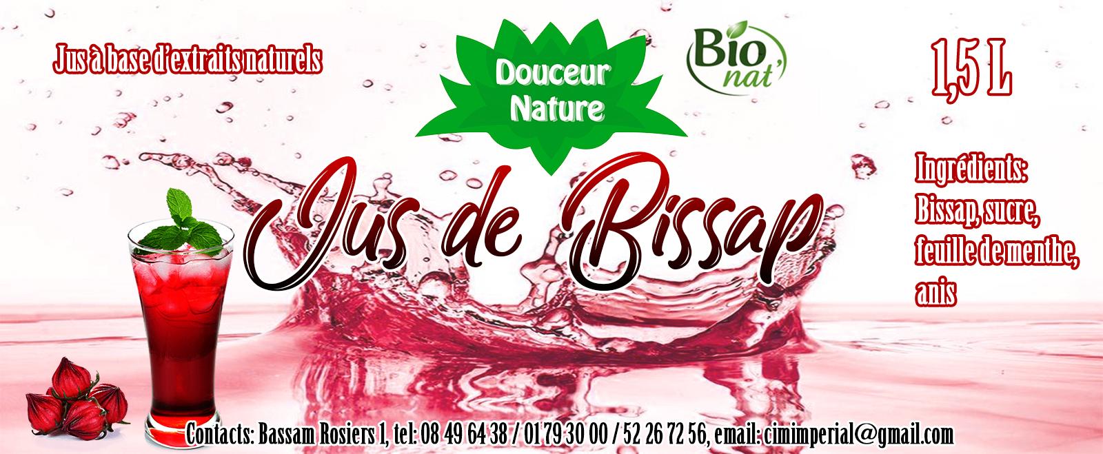 jus de bissap – Design by Chelty, Agence web à Abidjan