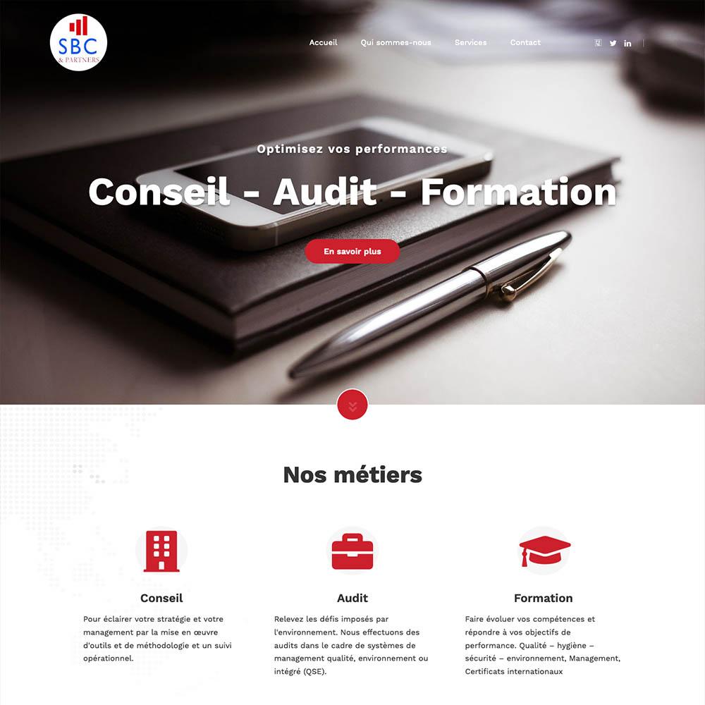 portolio sites web DBC – SBC partners