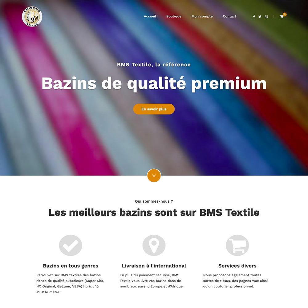 portolio sites web DBC – bms textile