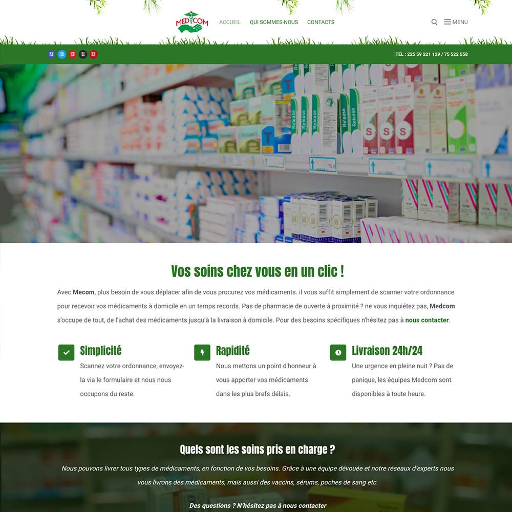 portolio sites web DBC – medcom
